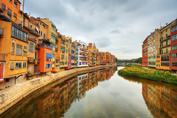 Jewish quarter in Girona. Spain.