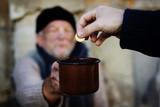 Fototapety Begging hands