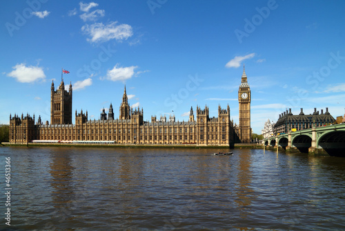 Palace of Westminster with Big Ben