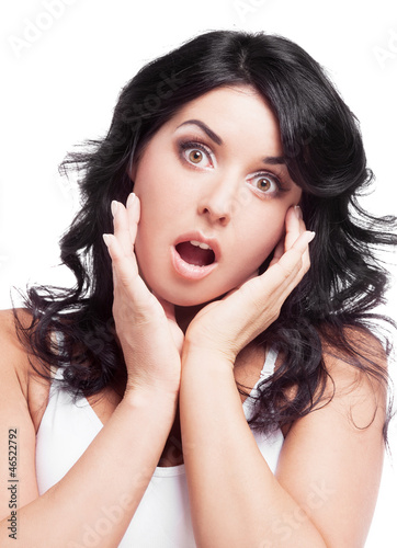 surprised woman