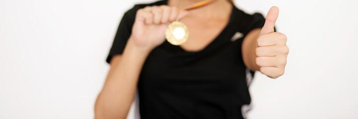Ihre Medallie präsentieren