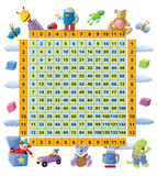 Fototapety Funny 12 times table