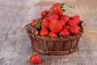 Basket of strawberries