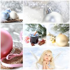 helle Collage - Weihnachten