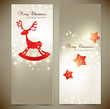 Collection of gift cards and invitations. Vector background
