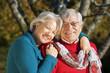 Happy senior couple - Glückliches Seniorenpaar