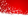 Schneeflocken, Weihnachtskarte, Vektor