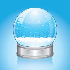 Vector Snow Globe - EPS10 -