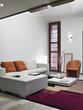 dettaglio di un soggiorno moderno