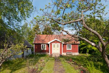 Haus auf der Insel Öland, Schweden