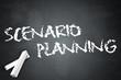 "Blackboard ""Scenario Planning"""