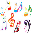 Kids on notes musical