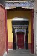 Door to buddist tample