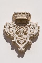 Orsini palace. Galatina. Puglia. Italy.