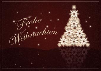 Weihnachten, Hintergrund, rote Weihnachtskarte