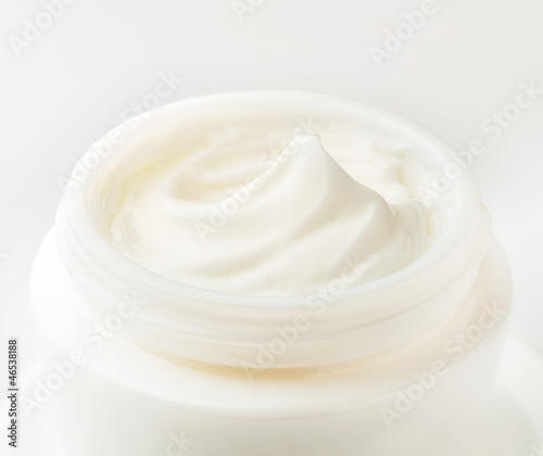 Cosmetic cream close-up