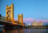 Golden Gates drawbridge in Sacramento - 46538317