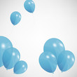 set of colored balloons, vector illustration. EPS 10.