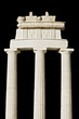 Replica of an ancient Greek temple