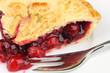 Cherry Pie Close-Up