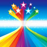 Funky Celebratory Stars