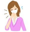 女性 咳 くしゃみ