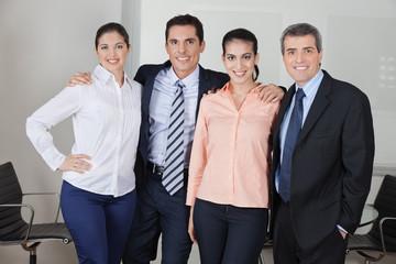 Eingespieltes-Business-Team