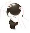 旋毛の白髪と薄毛