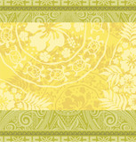 Fototapety Hawaiian tribal wallpaper