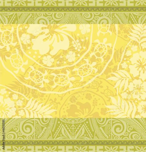 Hawaiian tribal wallpaper