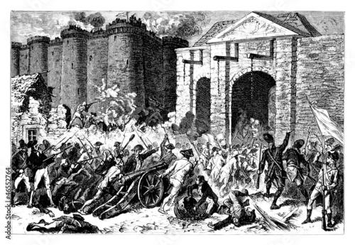 1789 : Prise de la Bastille - French Revolution