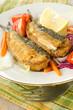 Sardine ripiene, stuffed sardines