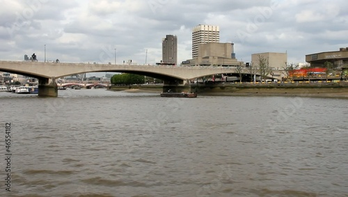 The London Bridge and the river Thames in London, England