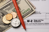 Form W-2 Wage and Tax Statement poster