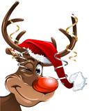 Fototapety Rudolph Weihnachten