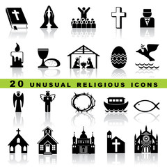 christian religion icons and symbol