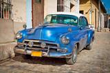 Classic Chevrolet in Trinidad, Cuba.