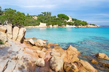 Rocks in Capriccioli beach