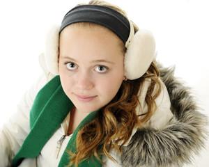 Tween Winter Portrait