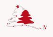 merry christmas - weihnachtsbäume