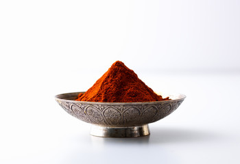 Chili powder in a bowl