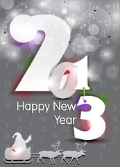 abstract new year background with sparkle
