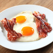 Spiegeleier mit Bacon
