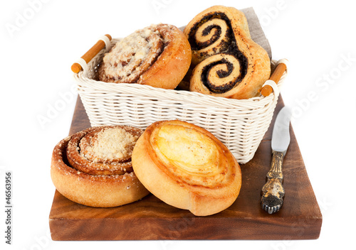 Delicious sweet buns