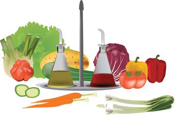 condimento verdura
