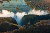 Fototapety Victoria Falls from the Air