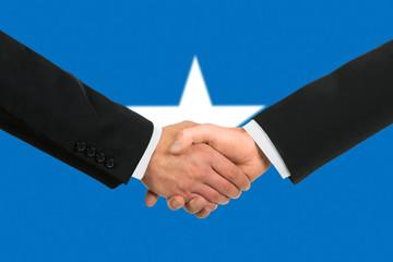 The Somalia flag