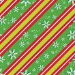 Background patterns in Christmas colors, eps 10