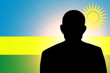 The Rwanda flag