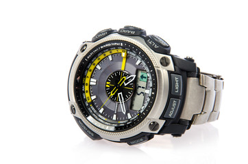Modern and sport wristwatch